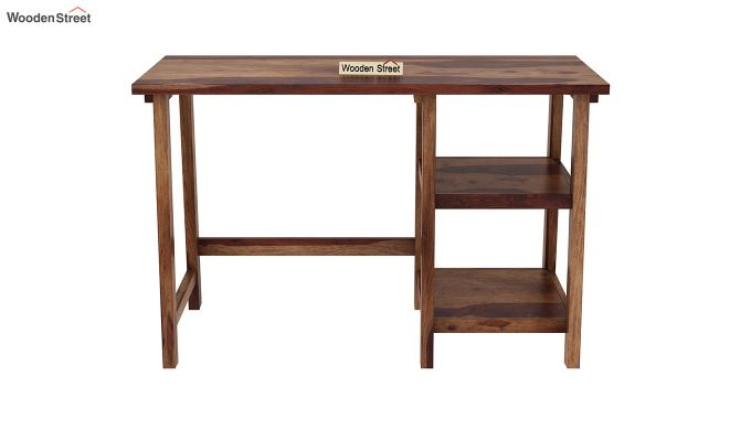 Renaker Study Desk (Teak Finish)-3