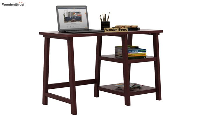 Renaker Study Desk (Mahogany Finish)-2