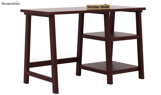 Renaker Study Desk (Mahogany Finish)-4