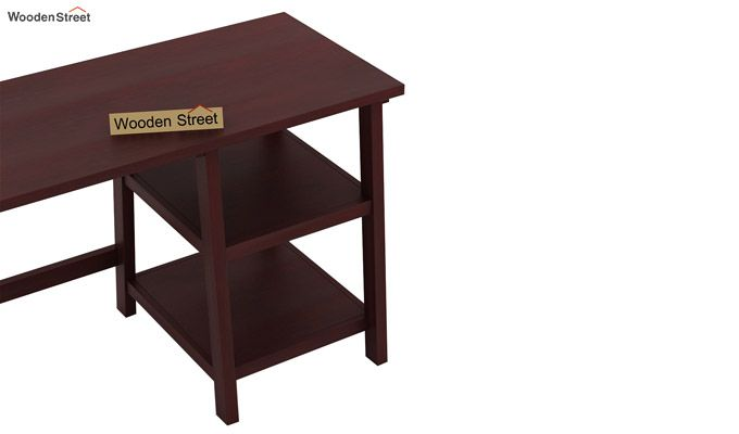 Renaker Study Desk (Mahogany Finish)-5