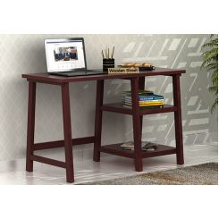 Renaker Study Desk (Mahogany Finish)