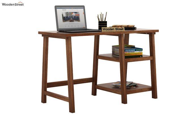 Renaker Study Desk (Teak Finish)-1
