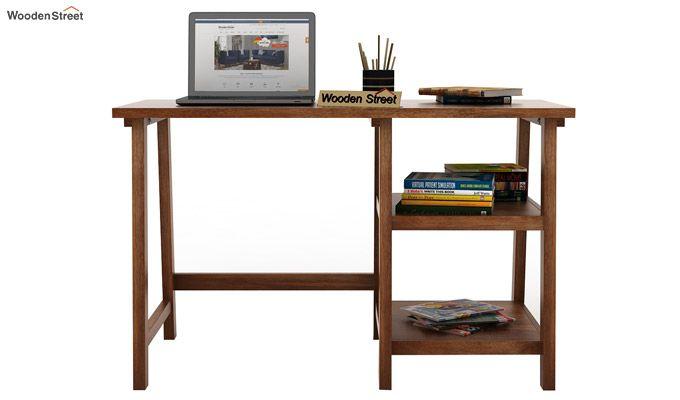 Renaker Study Desk (Teak Finish)-2