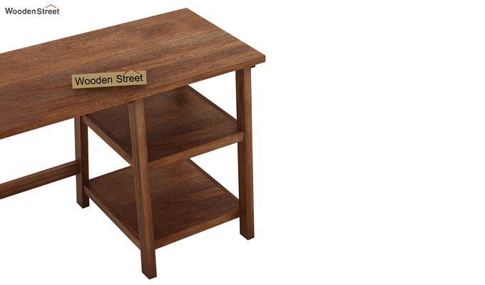 Renaker Study Desk (Teak Finish)-4