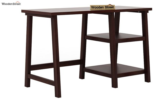 Renaker Study Desk (Walnut Finish)-3