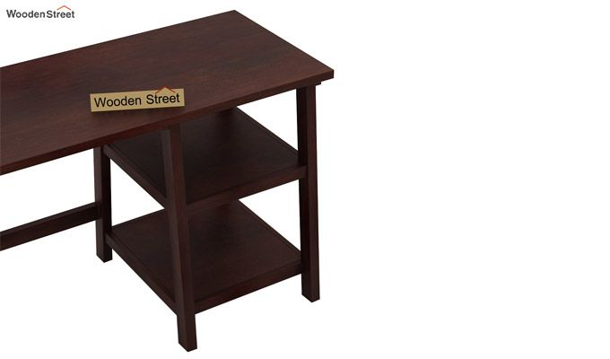 Renaker Study Desk (Walnut Finish)-4