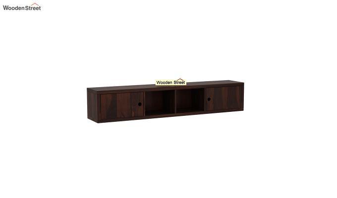 Rizzel Study Table With Shelf (Walnut Finish)-6