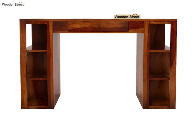 Samaya Study Table (Honey Finish)-4