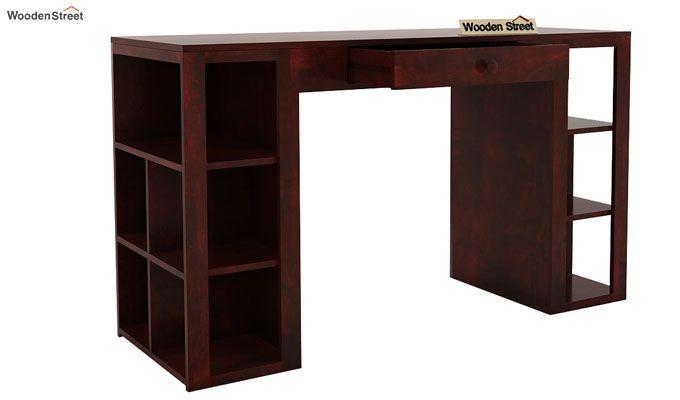 Samaya Study Table (Mahogany Finish)-5