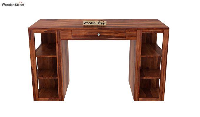 Samaya Study Table (Honey Finish)-3
