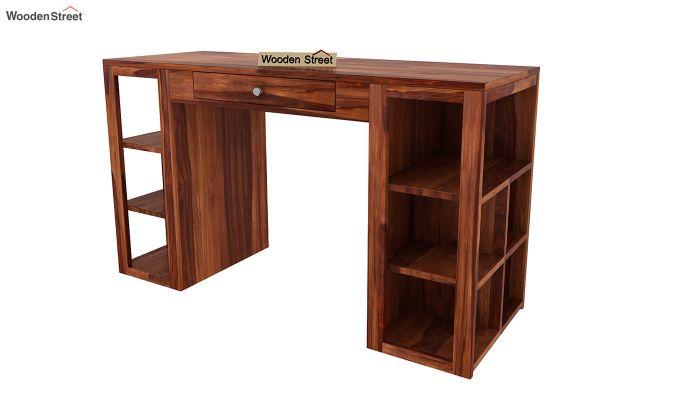 Samaya Study Table (Honey Finish)-5