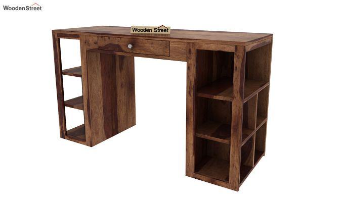 Samaya Study Table (Teak Finish)-5