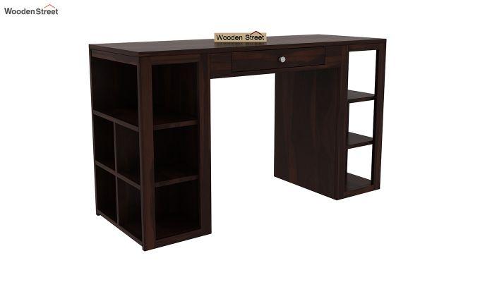 Samaya Study Table (Walnut Finish)-2