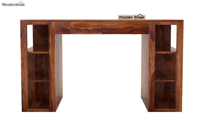 Samaya Study Table (Teak Finish)-4