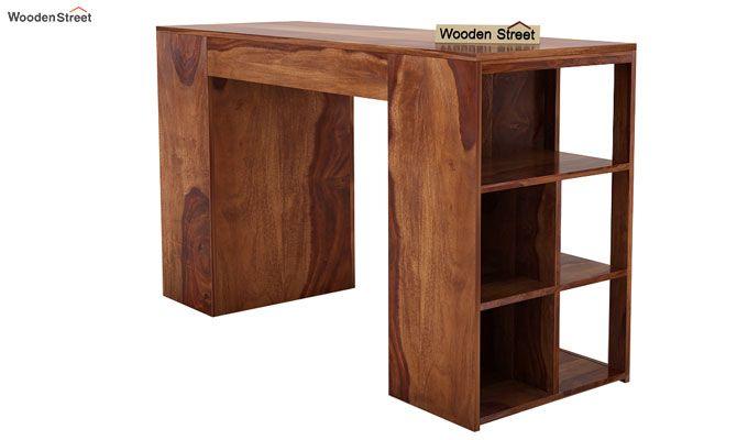 Samaya Study Table (Teak Finish)-6