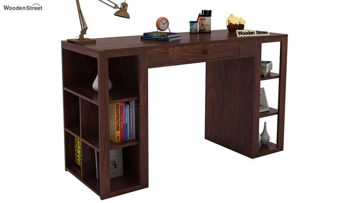 Samaya Study Table (Walnut Finish)-2