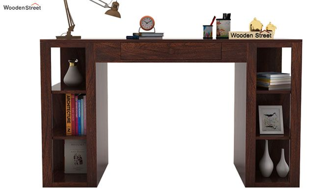 Samaya Study Table (Walnut Finish)-3