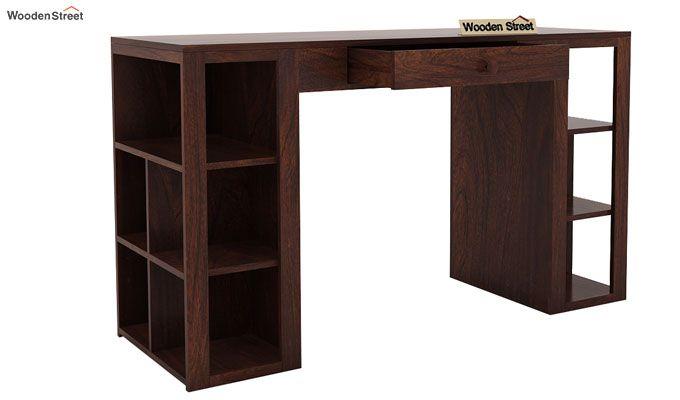 Samaya Study Table (Walnut Finish)-6