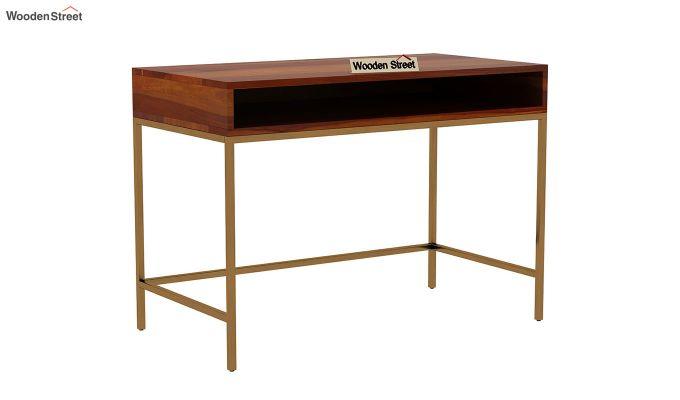 Sapphire Study Table (Honey Finish)-2