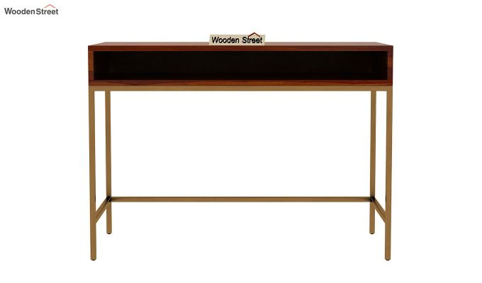 Sapphire Study Table (Honey Finish)-3