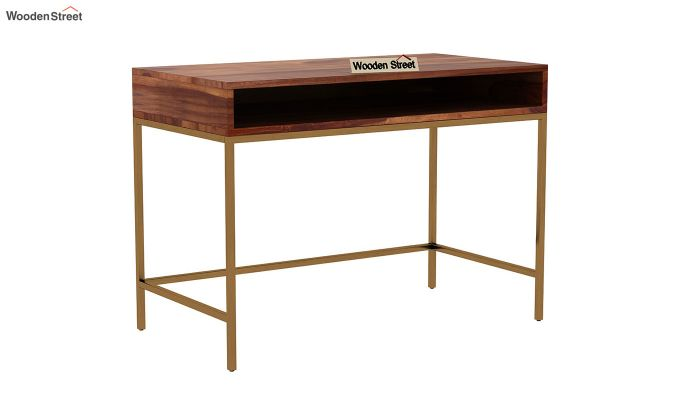 Sapphire Study Table (Teak Finish)-2