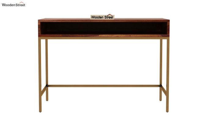 Sapphire Study Table (Teak Finish)-3