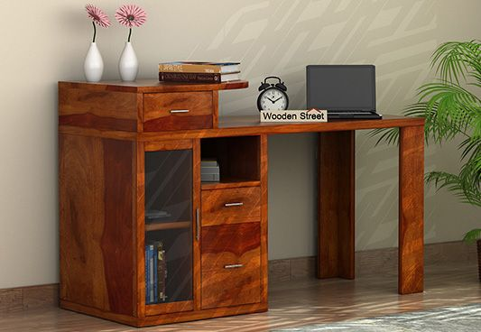 Shop Study Desk With Storage