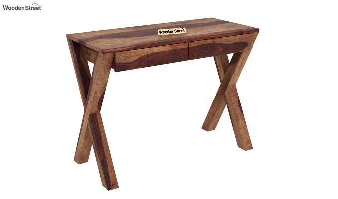 Sinclair Study Table (Teak Finish)-2