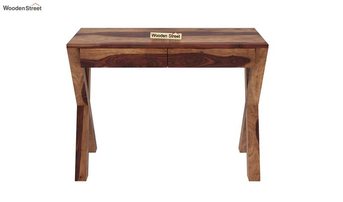 Sinclair Study Table (Teak Finish)-3