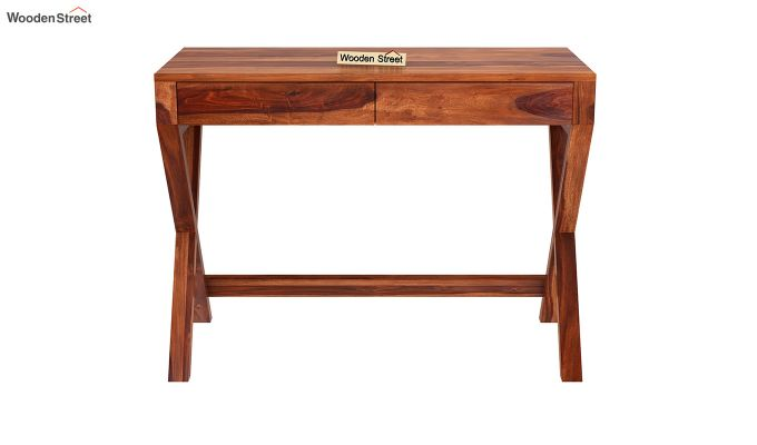 Sinclair Study Table (Honey Finish)-3