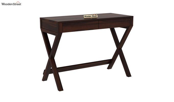 Sinclair Study Table (Walnut Finish)-2