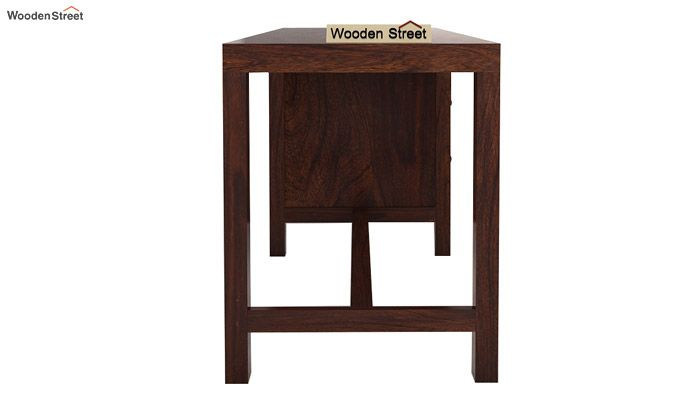 Slater Study Table With Drawer (Walnut Finish)-6
