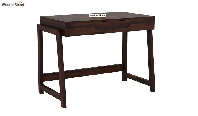 Stamper Wooden Desk (Walnut Finish)-2