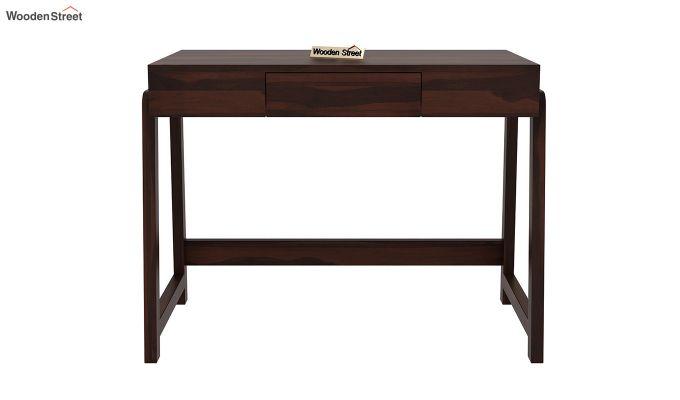 Stamper Wooden Desk (Walnut Finish)-3