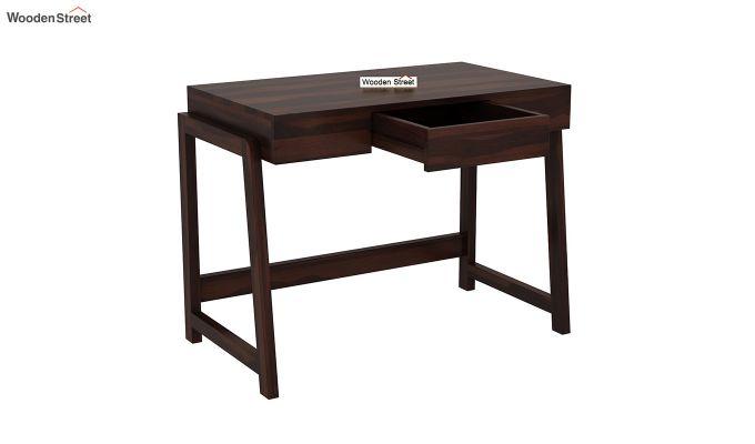 Stamper Wooden Desk (Walnut Finish)-4
