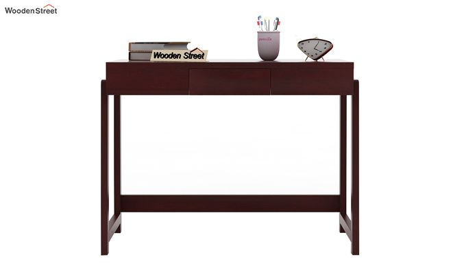 Stamper Wooden Desk (Mahogany Finish)-3