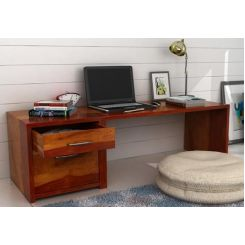 Cambria Study Table (Honey Finish)