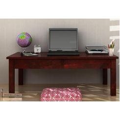 Aveeno Study & Laptop Table (Mahogany Finish)