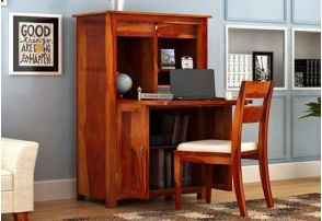 Wooden Table With Chair For Study Mumbai India