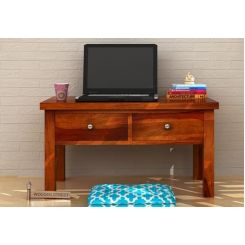 Graco Study & Laptop Table (Honey Finish)