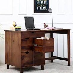 Lewis Study Table (Teak Finish)