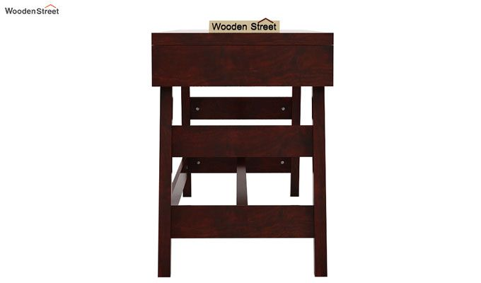 Thomas Study Table With Drawer (Mahogany Finish)-6