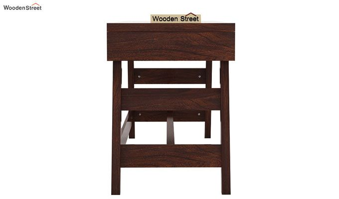 Thomas Study Table With Drawer (Walnut Finish)-6