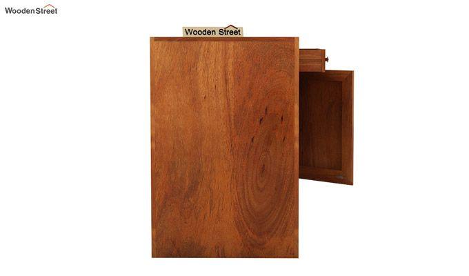 Tiffany Solid Wooden Study Table (Honey Finish)-6