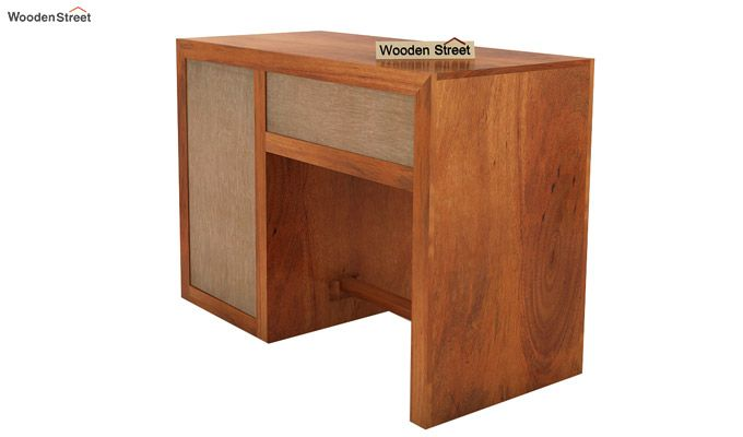 Tiffany Solid Wooden Study Table (Honey Finish)-7