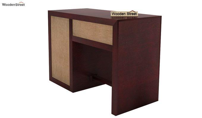 Tiffany Solid Wooden Study Table (Mahogany Finish)-7