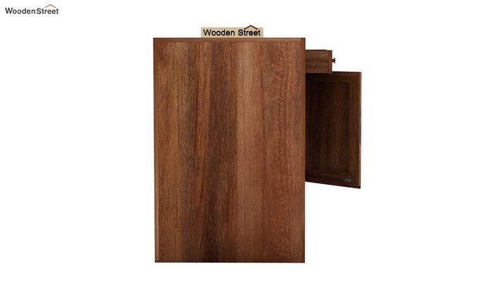 Tiffany Solid Wooden Study Table (Teak Finish)-7