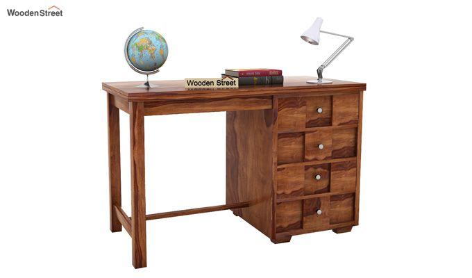 Travis Study Table (Teak Finish)-1