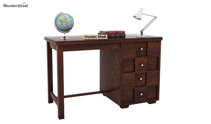 Travis Study Table (Walnut Finish)-1