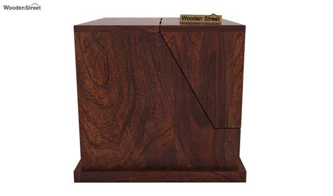 Tyrone Table Cum Shelf (Walnut Finish)-9